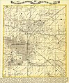 """""""Township 15 North, Range 10 West,"""" from Atlas Map of Morgan County, Illinois.jpg"""
