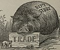 """Trade"" and the ""Dep't Store"" Hog in art detail, ""Blasts"" from The Ram's Horn (1902) (14598369097) (cropped).jpg"
