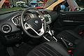 """ 09 - Lancia Delta ""08 interior - Auto Italia Gaydon 2009.jpg"