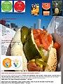 """a tasty hot dog"" - vegetables and fruits.jpg"