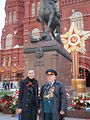 (31) 2011 Amb Twomey and veteran, Red Square (courtesy Twomey).jpg