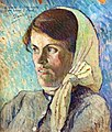 (Albi) Tête de jeune femme (1892) Daniel de Monfreid MTL.332.jpg