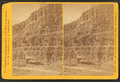 (Cañon) wall, boats on bank of river, from Robert N. Dennis collection of stereoscopic views.png
