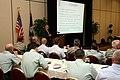 (Hurricane Katrina-Hurricane Rita) Baton Rouge, LA, May 17, 2006 - Dan Donohue, Director of Public Affairs and Strategic Command of the National Guard based in Arlington, VA address - DPLA - 95b478d7e034f7a6ff23fcef3058c40e.jpg