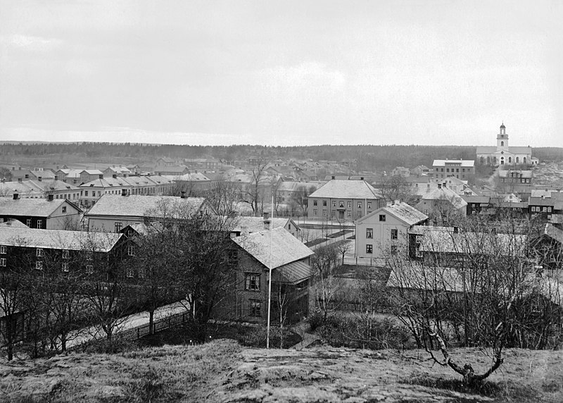 File:Åmål (before the fire), Dalsland, Sweden (37320988885).jpg
