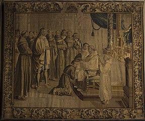 Saint Bonaventure making profession