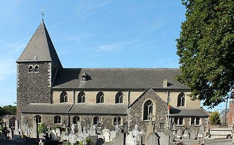 Église Saint-Lambert de Lixhe - vue latérale.JPG