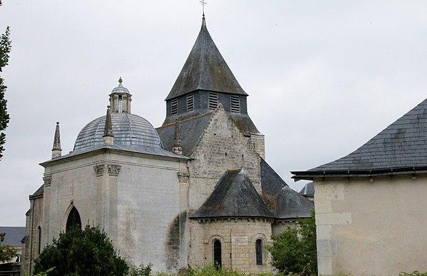 Monument historique à Azay-le-Rideau