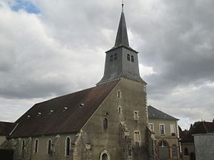 Cerisiers - Church of Cerisiers.