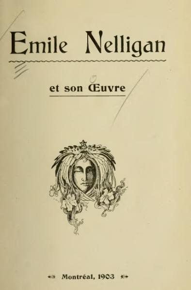 File:Émile Nelligan et son œuvre.djvu