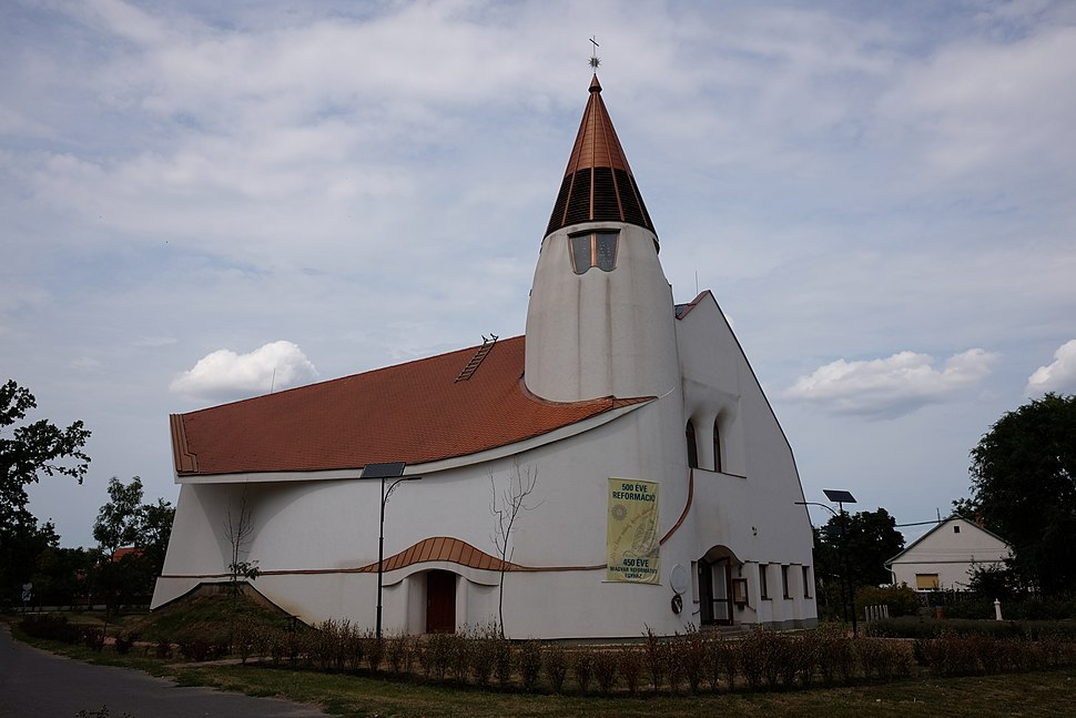 Church in Hortobágy.