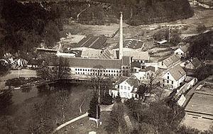 Ørholm - Ørholm Mill in 1920