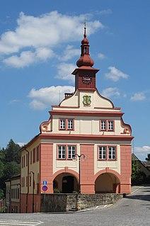 Úpice Town in Czech Republic