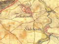 Čížkovice and Želechovice in 1760s.png