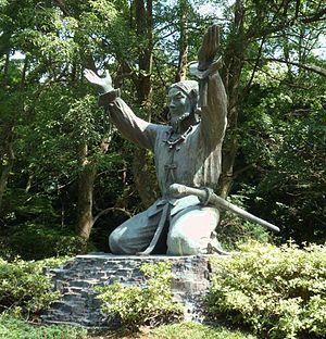 Ōkuninushi - Bronze statue of Ōkuninushi in Izumo-taisha