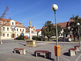 Žandov Town in Liberec, Czech Republic