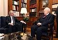 Συνάντηση ΥΠΕΞ Δ. Αβραμόπουλου με Πρόεδρο της Δημοκρατίας Κ. Παπούλια (8636951725).jpg