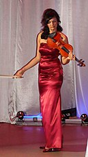 Александра Свиридова (трио Леди-Шлягер, скрипка)