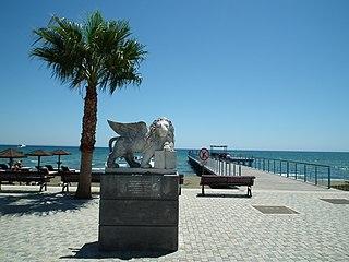 posąg weneckiego lwa