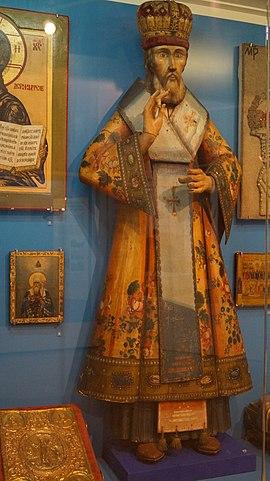Деревянная скульптура Христорождественского собора Челябинска (1740)
