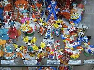 Dymkovo toys - Dymkovo toys