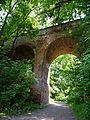 Клевань - замковий міст P1070743.JPG