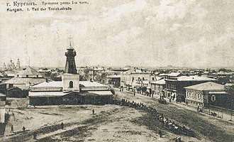 Kurgan, Kurgan Oblast - Kurgan in the 1850s