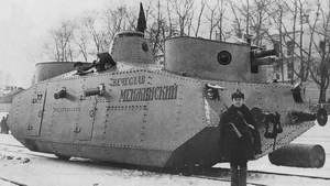 Northern Front (Soviet Union) - Soviet light armoured drezine (armoured car on rails) MBV D-1 as used by the NKVD security detachments