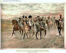 Положение в которое попало русская армия в австрии война и мир