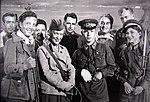 На съемках Боевого киносборника № 4 в августе 1941 года.jpg