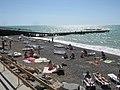 Пляж базы отдыха «Скиф» (Николаевка, Крым) 1.jpg