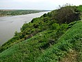 Правый берег Днестра ниже Хотынской крепости.jpg