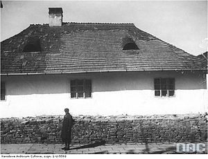 Sambor Ghetto - Image: Самбор. Улица Ткацкая, 1939