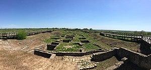 Tanais - The archaeological park of Tanais. 2017