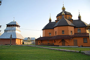 Tysmenytsia - Church of the Nativity of Our Lady