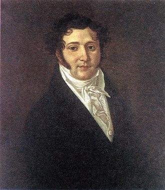 Mikhail Lermontov - Yuri Petrovich Lermontov (1787–1831), the poet's father