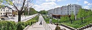 Prokhladny, Kabardino-Balkar Republic - A residential area in Prokhladny