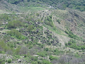 Halidzor Fortress - The remains of old Halidzor settlement
