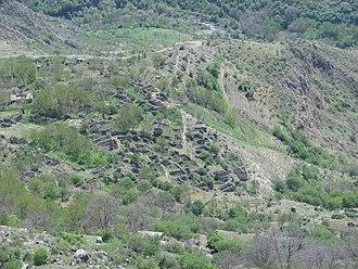 Halidzor Fortress - The remains of old Halidzor settlement