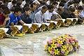 عکس های مراسم ترتیل خوانی یا جزء خوانی یا قرائت قرآن در ایام ماه رمضان در حرم فاطمه معصومه در شهر قم 39.jpg