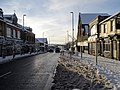 -2021-01-09 Looking south west along Front Street in the snow, Consett, County Durham.jpg