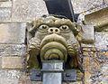 002 Stoke Rochford Ss Andrew & Mary, exterior - east wall gargoyle.jpg