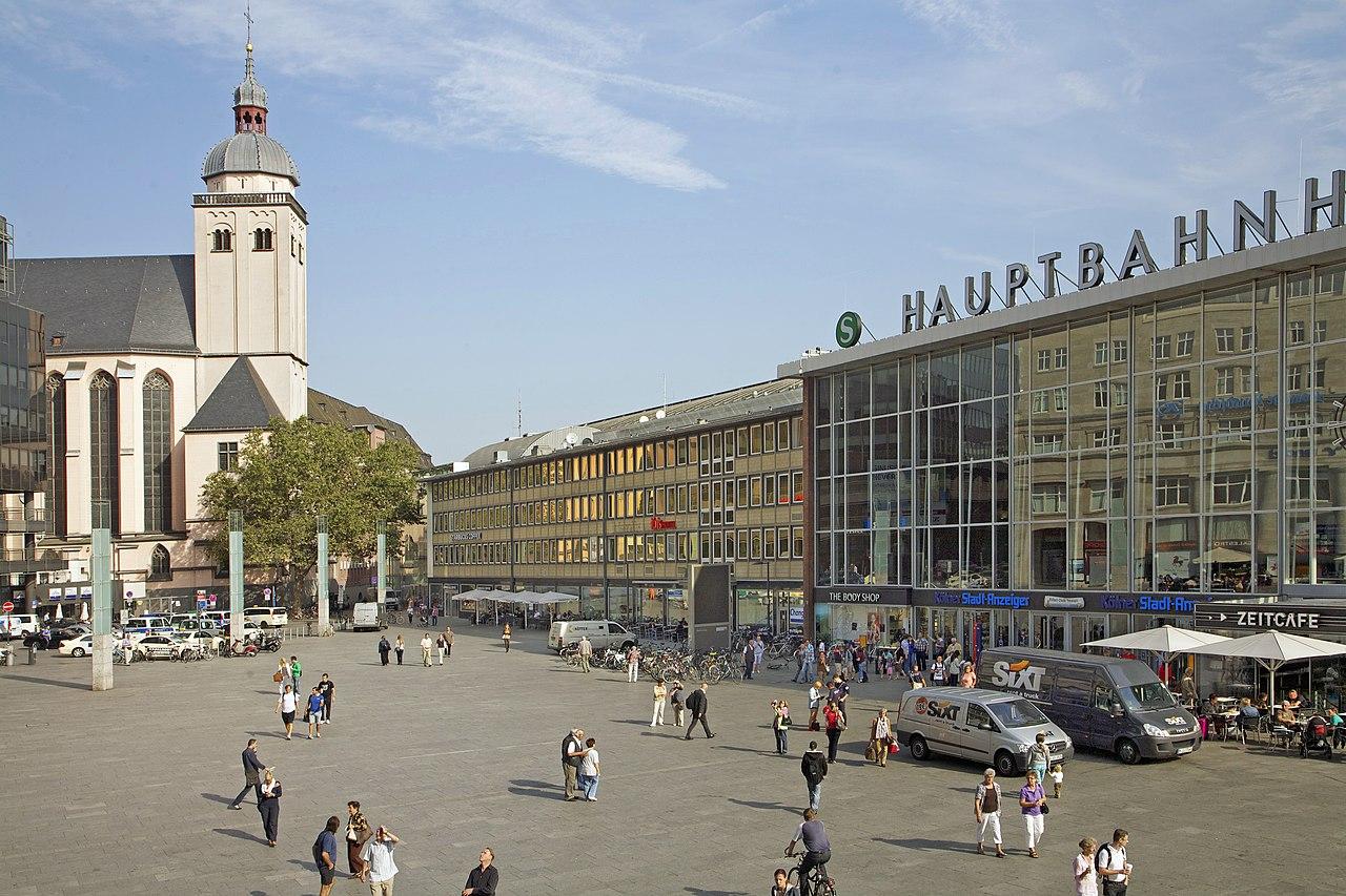 00 0198 Köln - Hauptbahnhof, Kirche Sankt Mariä Himmelfahrt.jpg