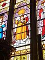 022 Ploumilliau Vitrail saint Milliau portant sa tête.JPG