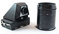 0440 Mamiya Univesal Right Angle Focussing Screen and extension tubes (5873494332).jpg