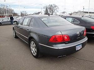 Volkswagen Phaeton - Pre-facelift Volkswagen Phaeton