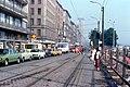 056R36270679 Franz Josefs Kai, Blick Richtung Schottenring, Bereich Haltestelle Salztorbrücke, 27.06.1979.jpg