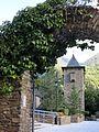 080 Casa de la Vall (Andorra la Vella), portal exterior nord i torre.JPG