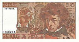 Französische Banknote (10 Francs, 1972) mit einem Porträt von Hector Berlioz (Quelle: Wikimedia)