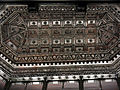 115 Palau del Lloctinent, sostre de l'escala, durant el festival Llum BCN.JPG